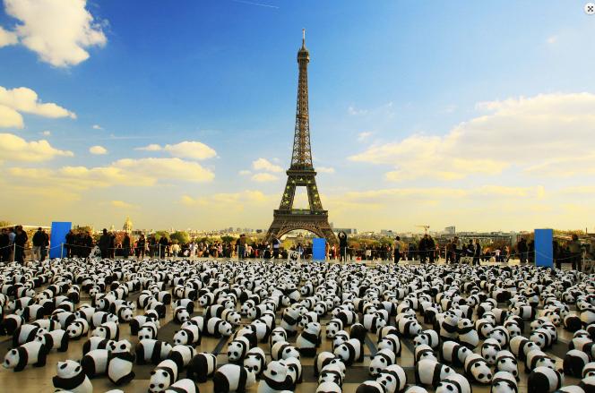 Street Marketing de WWF: Mil Seiscientos Pandas, ¿Son Demasiados?