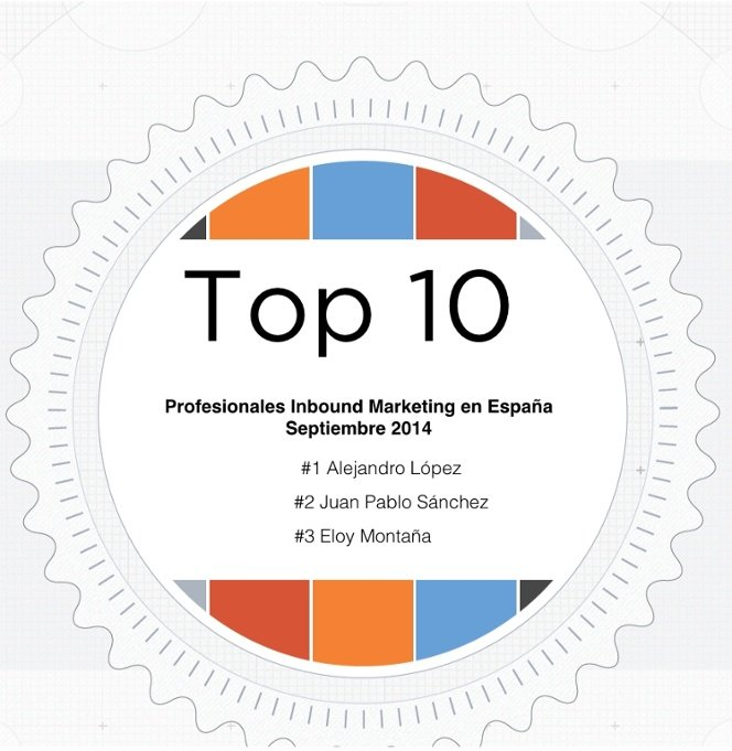 Top 10 Profesionales Inbound Marketing en España