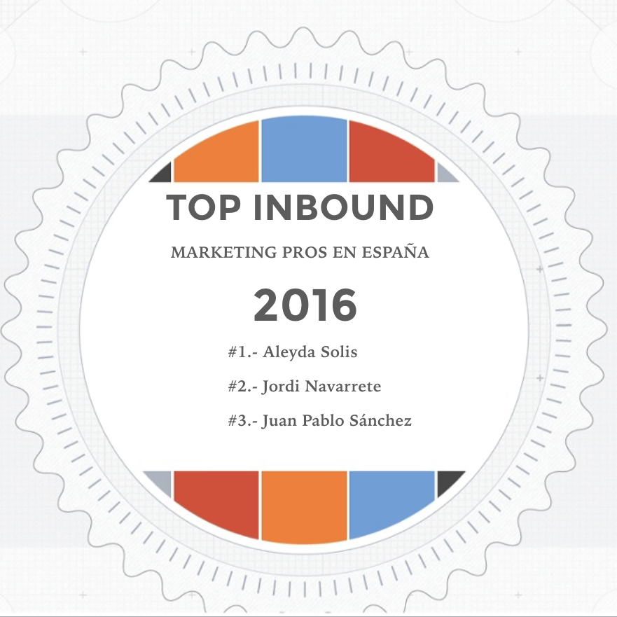 Top 10 Profesionales Inbound Marketing en España 2016