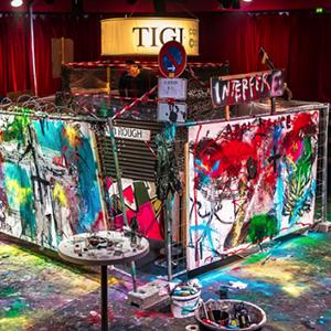 Art Paint Live Performance, eventos artísticos
